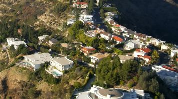 title: Beautiful Aerial View Scenery of LA