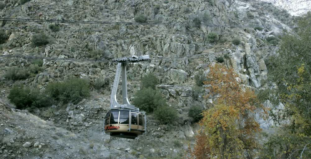 title: Cable Car in Palm Springs
