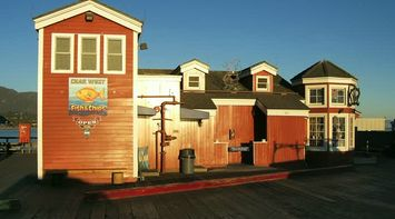 title: Char West Fish and Chips Restaurant at Stearns Wharf