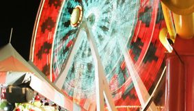 title: Adventurous Wheel at Santa Monica Luna Park