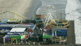 Lovely Santa Monica Luna Park