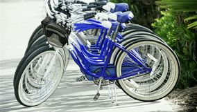 Deep Purple Royal Blue Bikes for Rent in San Diego