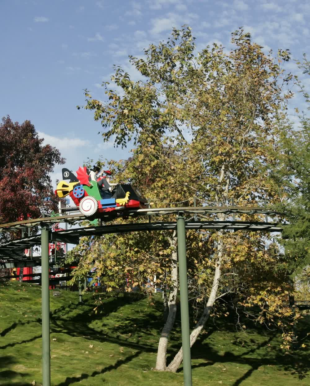 title: Fun Roller Coaster Ride at Legoland