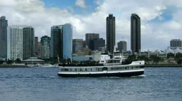 title: Harbor Excursion Cruise by the Black Twin Towers of San Diego
