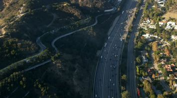 title: Highways and Mountain Valley Roads in LA