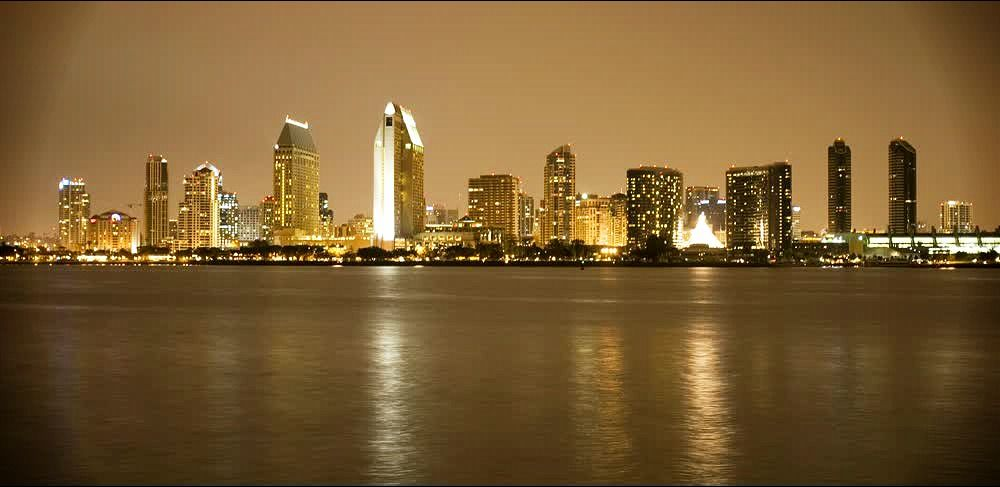 title: San Diego in Night