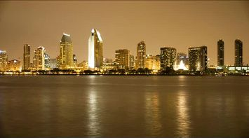 San Diego in Night