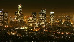 Night Scenery of Los Angeles