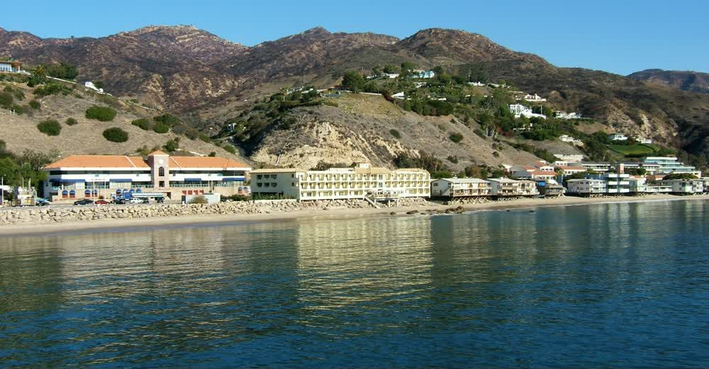 title: Malibu Beach and Hills of Los Angeles Scenery