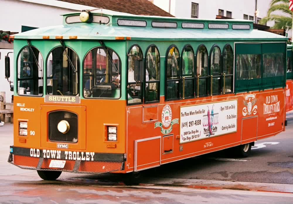 Trolley at San Diego1