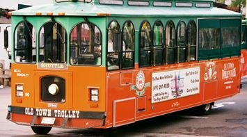 title: Orange Old Town Trolley Shuttle in San Diego