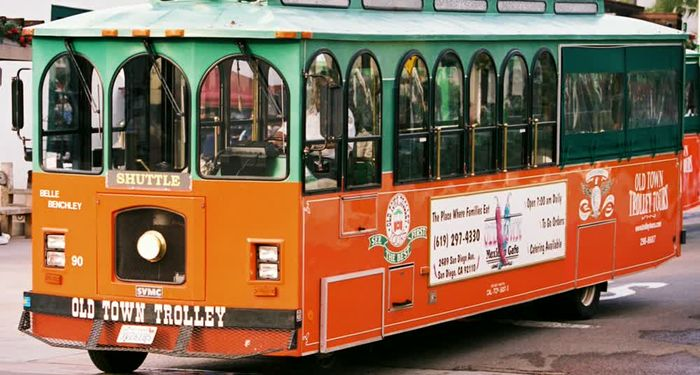 title: Trolley at San Diego1