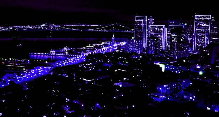 title: San Francisco in Night