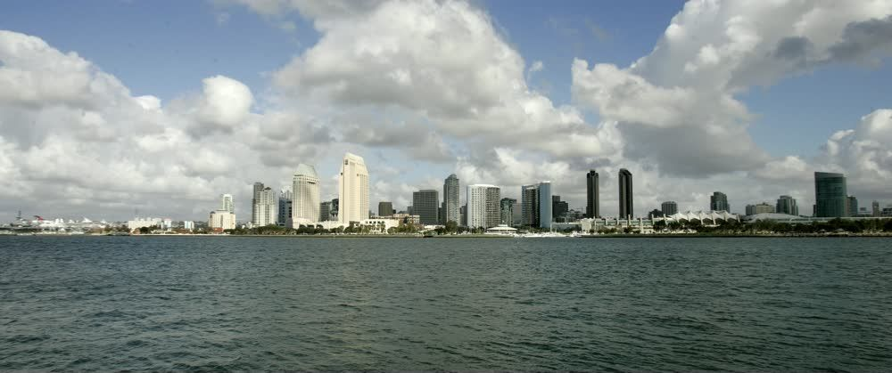 title: Picturesque Cityscape of San Diego in Daylight
