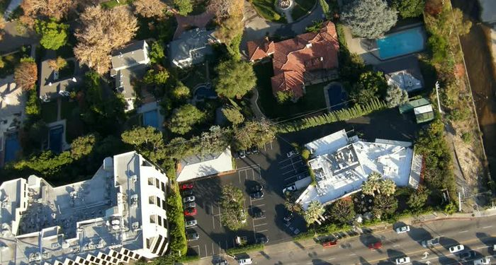 title: Aerial View of Los Angeles