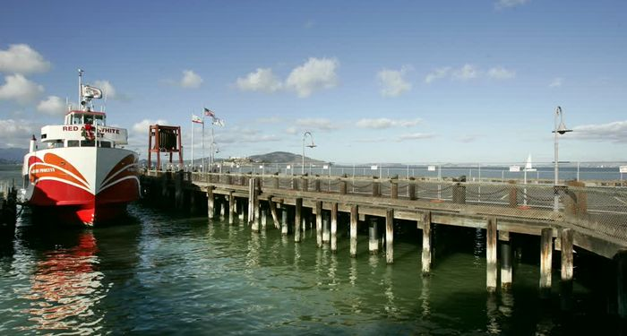 title: Boat on the Pier of San Francisco