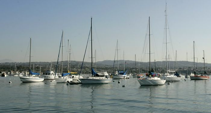 title: Sailing Boats of Stearns Wharf