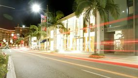 title: Night Shopping at Beverly Hills