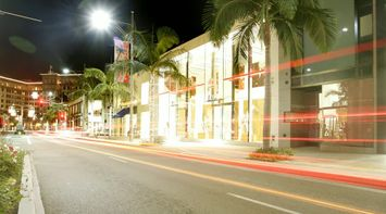 title: Shopping at Dior on Beverly Hills at Night in LA