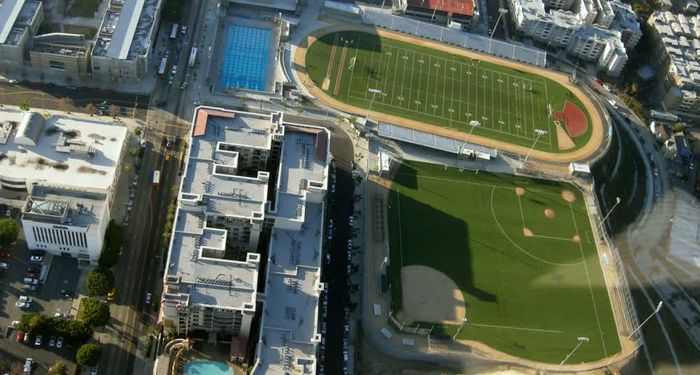 title: Sports Fields and Stadiums