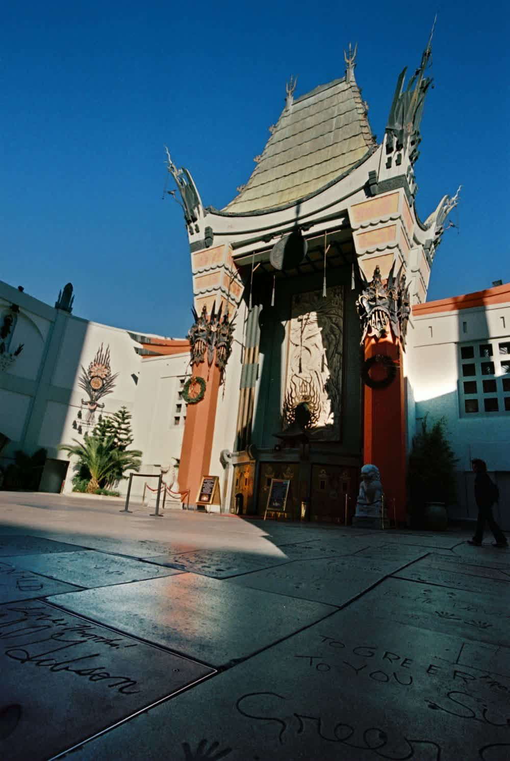 title: TCL Chinese Movie Theatre in Hollywood