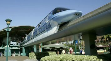 title: The Disneyland Monorail System of Transport in California