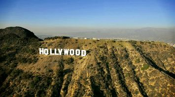 title: The Famous World Renonwed Hollywood Landmark Sign in Los Angeles