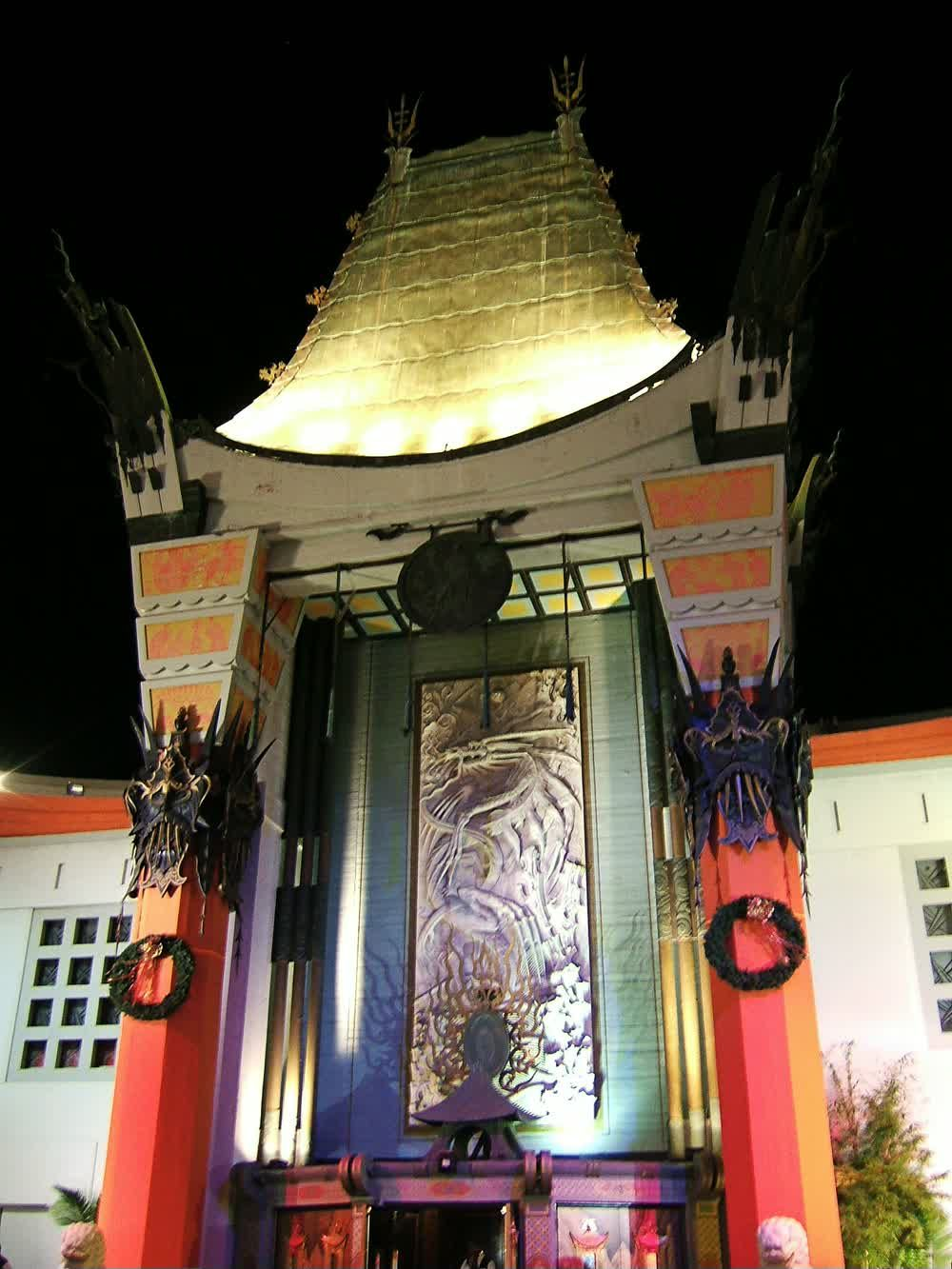 title: The Hollywood TCL Chinese Theatre in LA