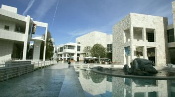title: The Picturesque Getty Museum of Art in LA
