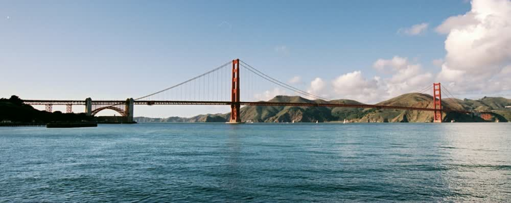 title: The Red Bridge Famous Structure in San Francisco