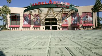 title: The Renowned Angel Stadium of Anaheim in Los Angeles