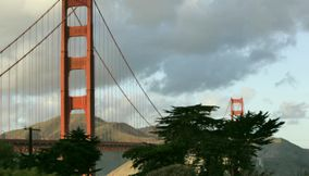 title: Tower at Golden Gate Bridge