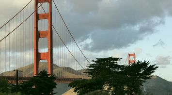 title: Towers of the Golden Gate Bridge in San Francisco