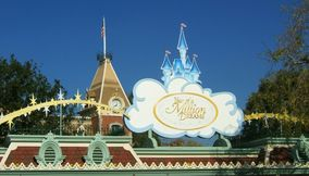 title: Year of a Million Dreams Sign at Disneyland