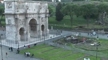 title: Colosseum point of view Le Colisee