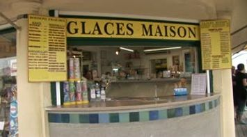 title: Glaces Maison Ice Cream Shop at Deauville plage