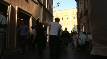 title: Italy Rome tourists Shopping