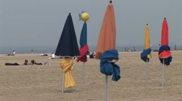 title: The colorful parasols of Deauville