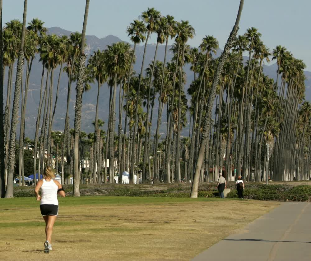 title: Jogging in Santa Barbara