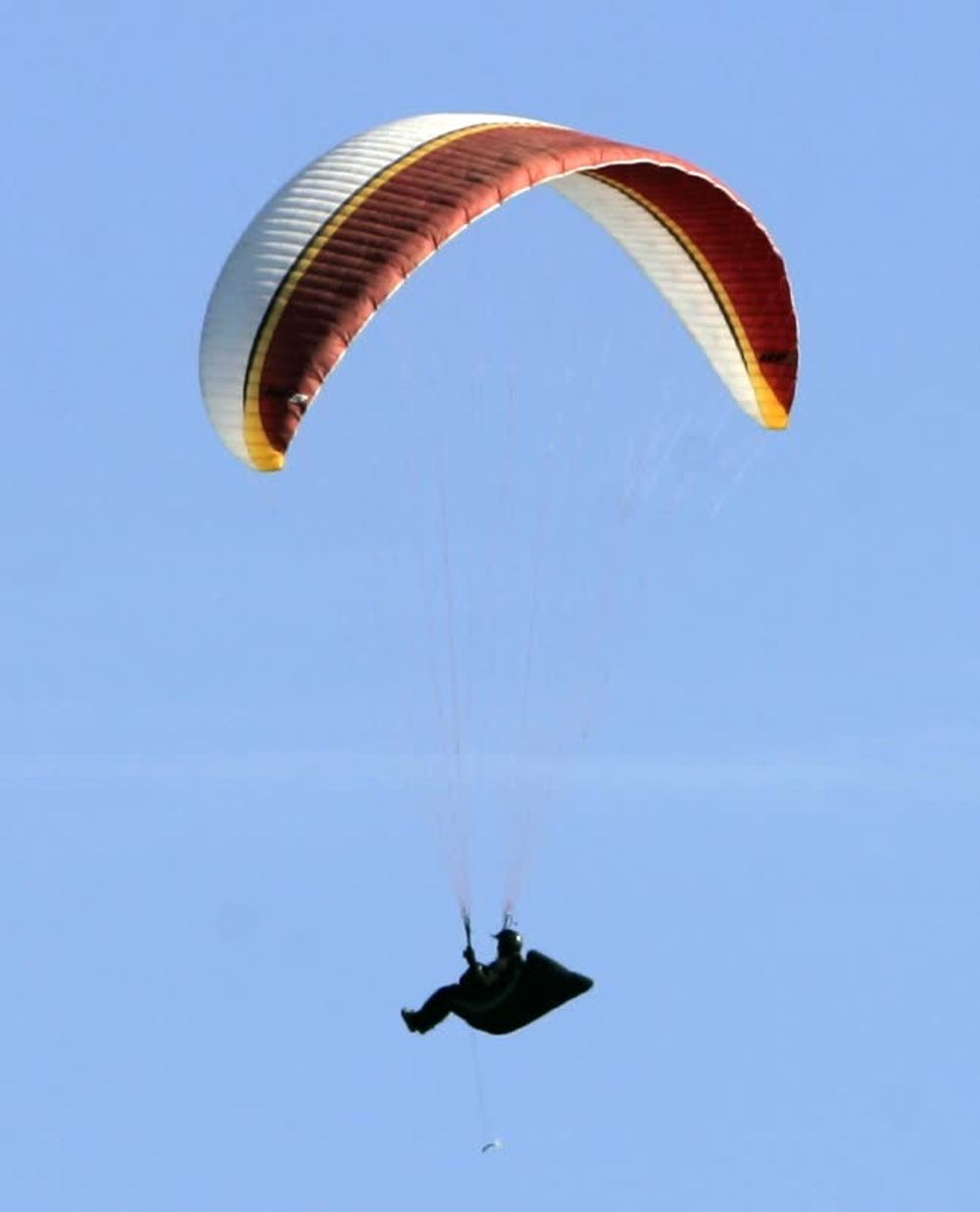 Paragliding at Santa Barbara