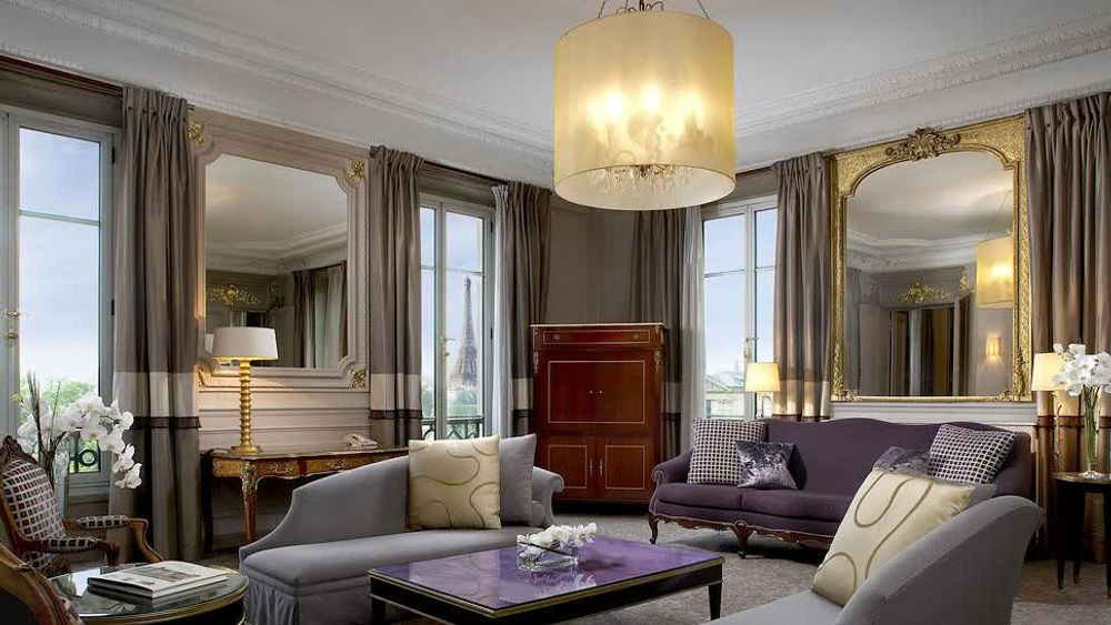 title: Refined setting in the heart of Paris Westin Hotel