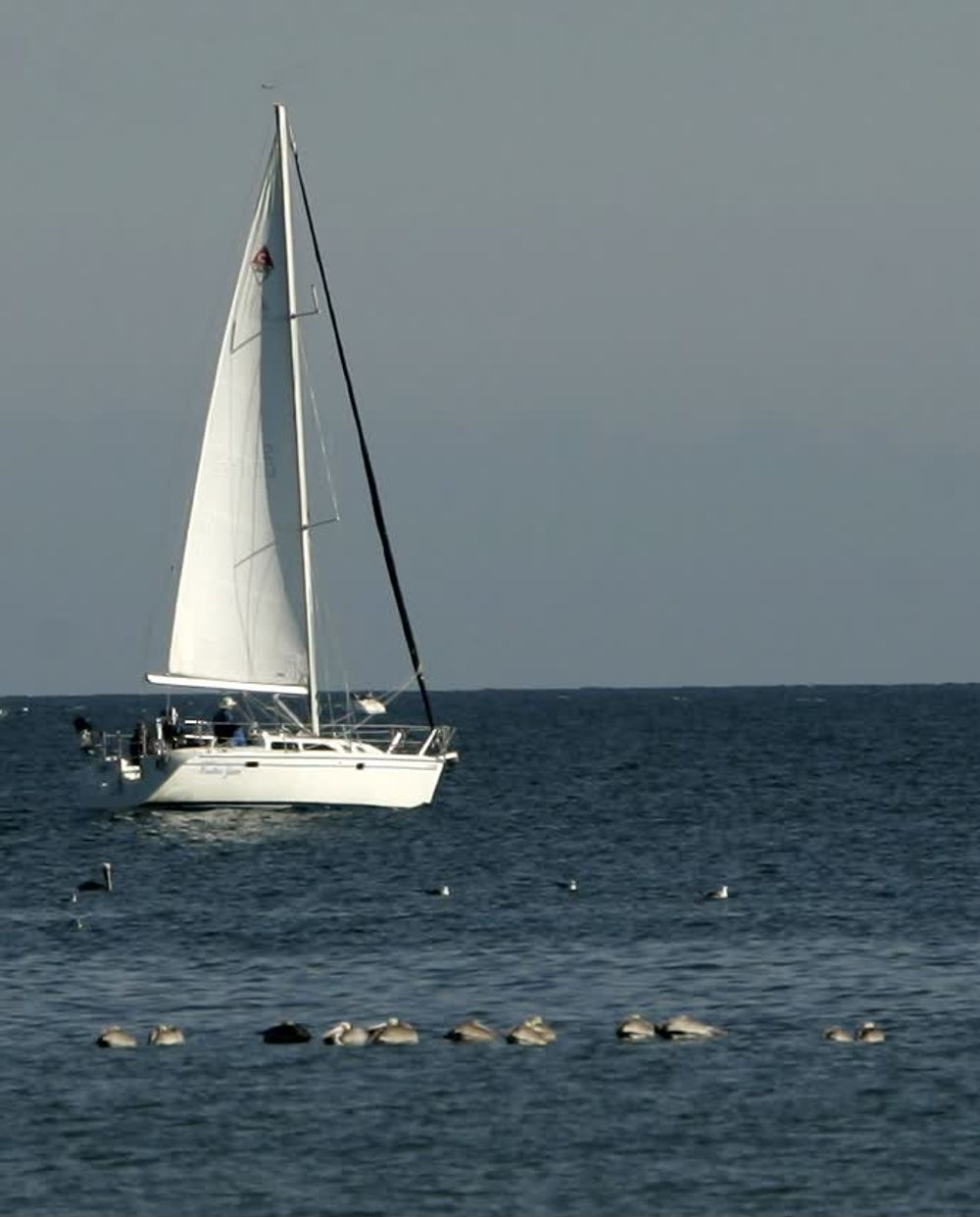 title: Sailing at Santa Barbara Beach in California