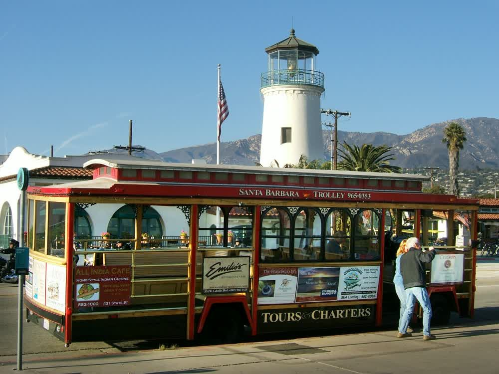 title: Santa Barbara Tourist Trolley