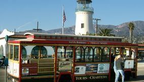 Santa Barbara Tourist Trolley
