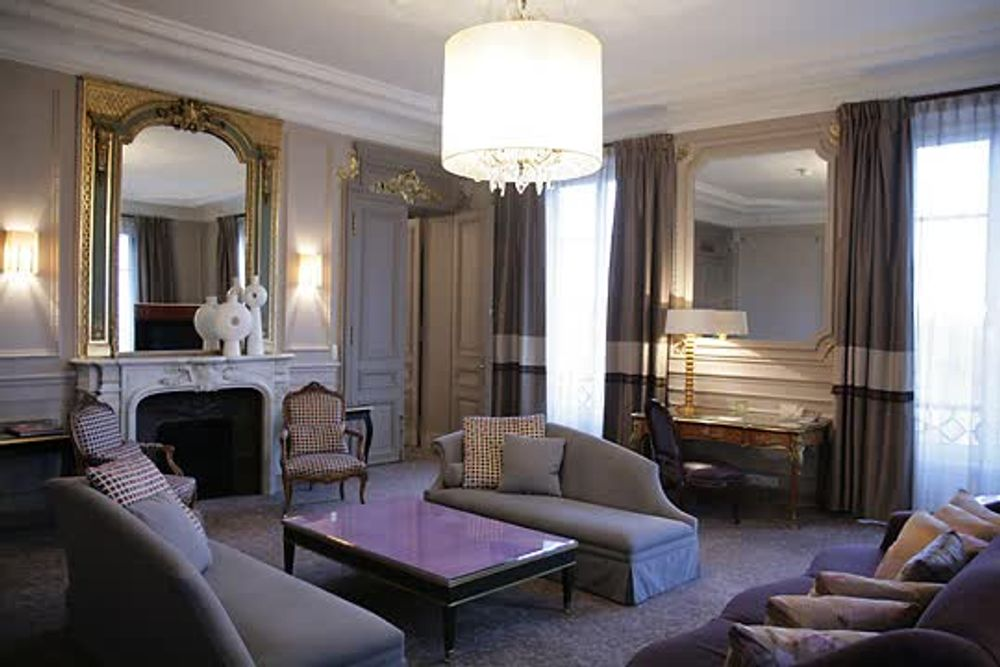 title: The Presidential suite Hotel Westin Paris