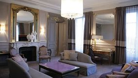 Presidential suite of Hotel Westin Paris