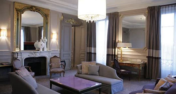 title: Presidential suite of Hotel Westin Paris
