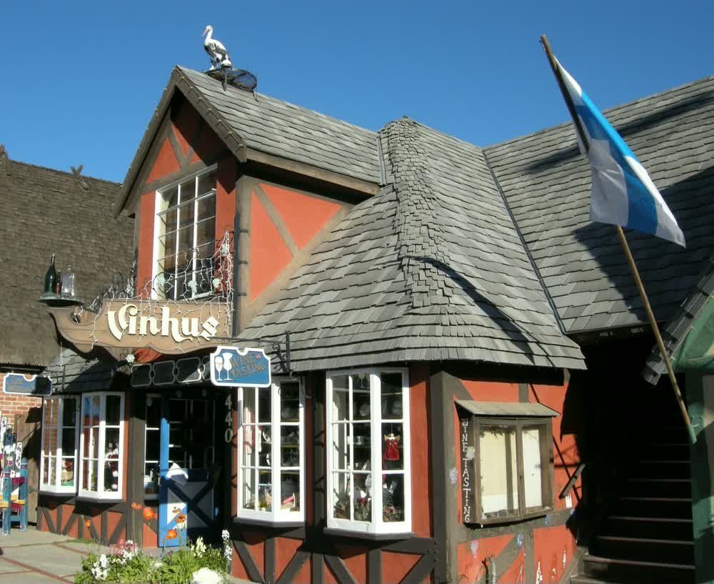 The Vinhus Pub in Solvang, California