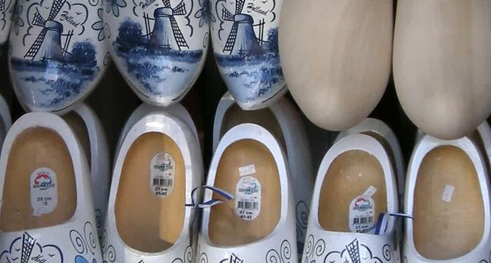 title: Traditional Porcelain Ceramic Danish Clog Shoes for Sale