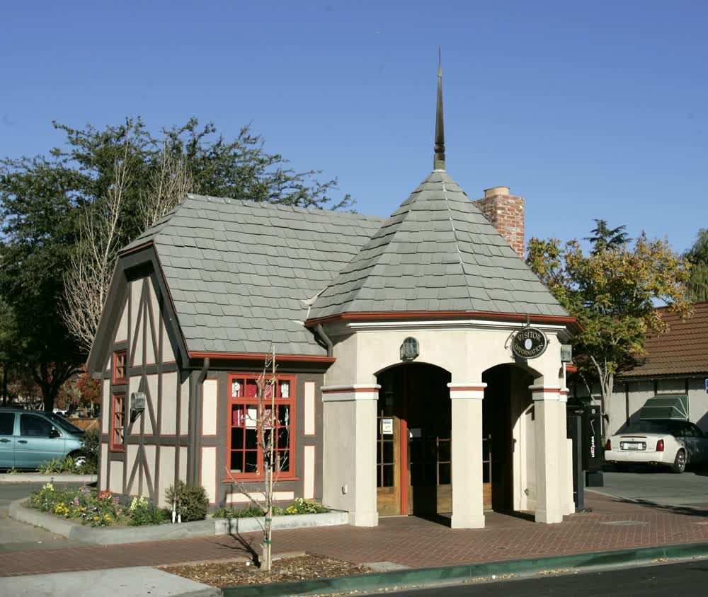title: Visitor Information Centre Small House in Solvang California
